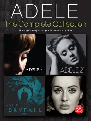 cover image of Adele: The Complete Collection (PVG)