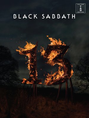 cover image of Black Sabbath - 13 (Guitar TAB)