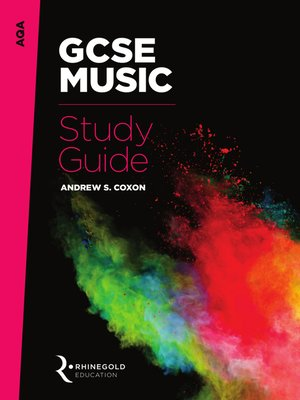 cover image of AQA GCSE Music Study Guide