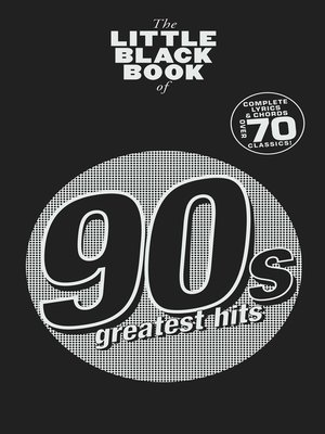 cover image of The Little Black Book: 90s Greatest Hits