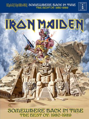 cover image of Iron Maiden: Somewhere Back In Time The Best of: 1980-1989