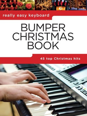 cover image of Really Easy Keyboard: Bumper Christmas Book