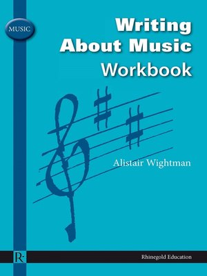 cover image of Writing about Music Workbook