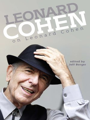 cover image of Leonard Cohen on Leonard Cohen