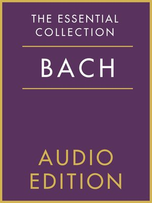 cover image of The Essential Collection: Bach Gold