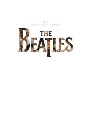 cover image of The Beatles: 20 Greatest Hits