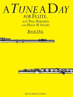 cover image of A Tune a Day for Flute