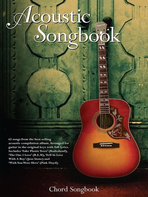 cover image of Acoustic Songbook Chord Songbook