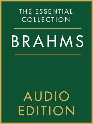 cover image of The Essential Collection: Brahms Gold