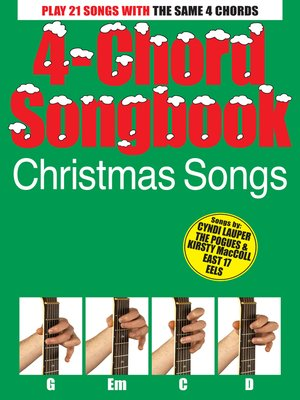 cover image of 4-Chord Songbook: Christmas Songs
