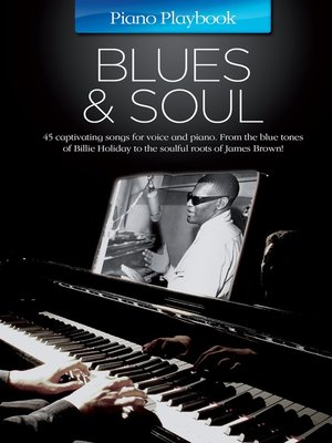 cover image of Piano Playbook: Blues & Soul