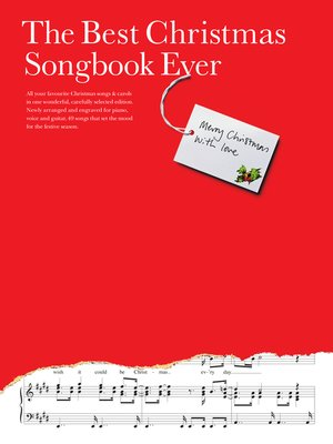 cover image of The Best Christmas Songbook Ever