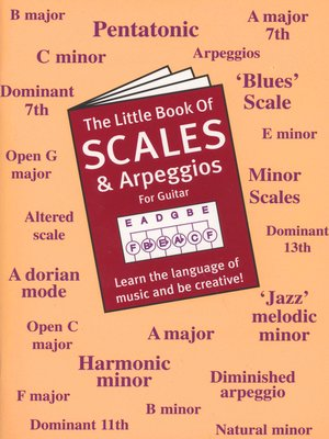 cover image of The Little Book of Scales And Arpeggios For Guitar