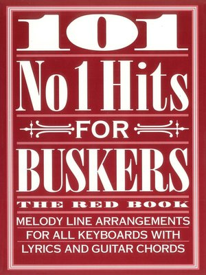 cover image of 101 No. 1 Hits for Buskers: The Red, Book