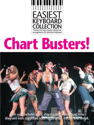 cover image of Easiest Keyboard Collection: Chart Busters