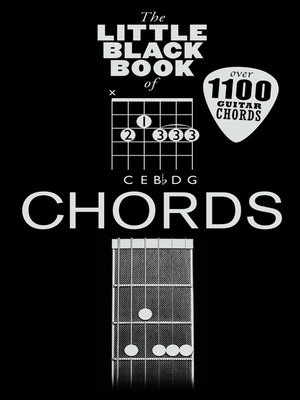 cover image of The Little Black Book of Chords