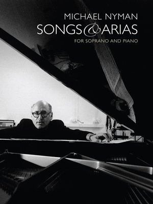 cover image of Michael Nyman Songs & Arias