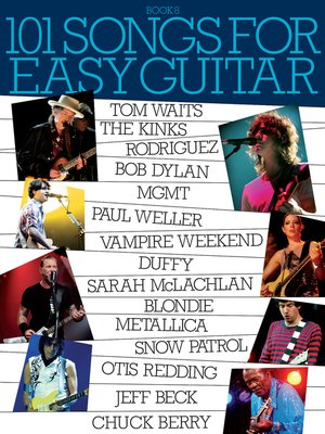 cover image of 101 Songs for Easy Guitar, Book 8