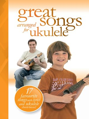 cover image of Great Songs arranged for Ukulele