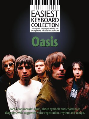 cover image of Easiest Keyboard Collection: Oasis