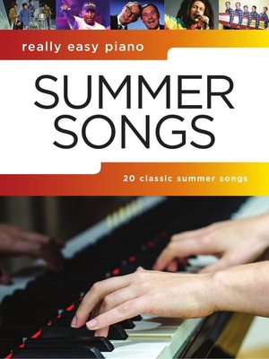 cover image of Really Easy Piano: Summer Songs