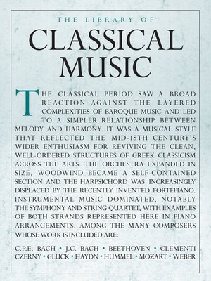 cover image of The Library of Classical Music