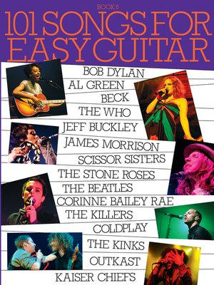cover image of 101 Songs for Easy Guitar, Book 6