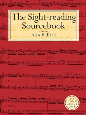 cover image of A Sight-reading Sourcebook Grade 1