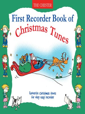 cover image of First Recorder, Book of Christmas Tunes