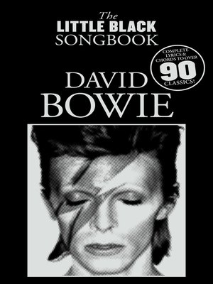 cover image of The Little Black Songbook: David Bowie