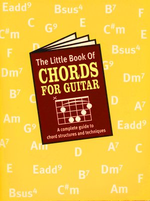 cover image of The Little Book of Chords for the Guitar