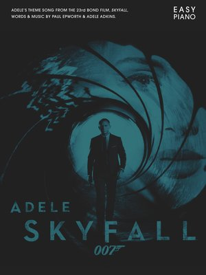 cover image of Adele: Skyfall (Easy Piano)