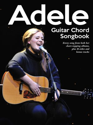 cover image of Guitar Chord Songbook: Adele