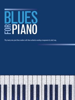 cover image of Blues For Piano