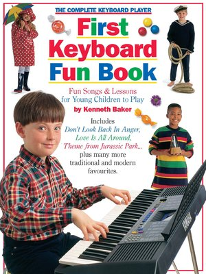 cover image of The Complete Keyboard Player First Keyboard Fun, Book
