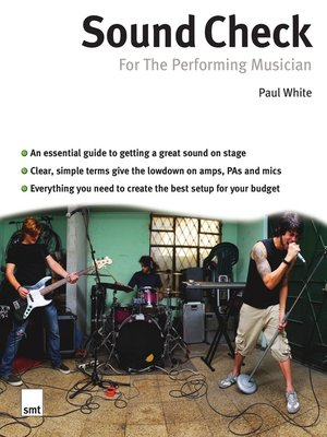 cover image of Sound Check for the Performing Musician