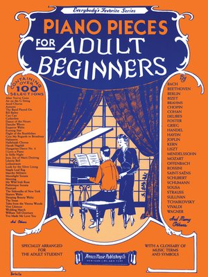 cover image of Everybody's Favourite Series: Piano Pieces for Adult Beginners