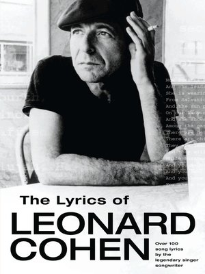 cover image of The Lyrics of Leonard Cohen