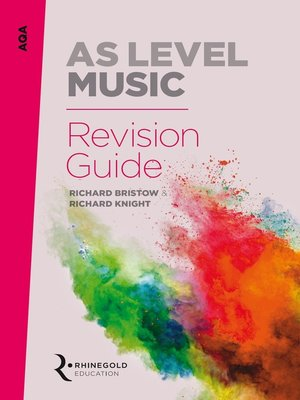 cover image of AQA AS Music Revision Guide