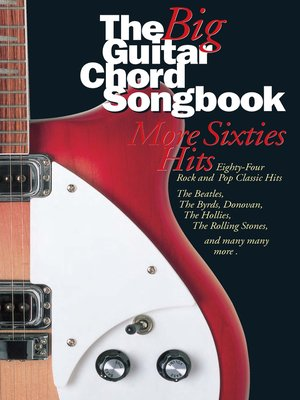 cover image of Big Guitar Chord Songbook More 60's Hits