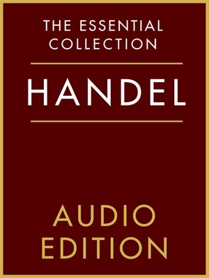 cover image of The Essential Collection: Handel Gold