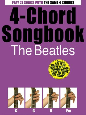 cover image of 4-Chord Songbook The Beatles