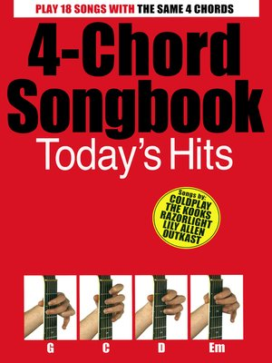cover image of 4-Chord Songbook Today's Hits