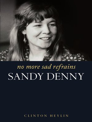 cover image of No More Sad Refrains