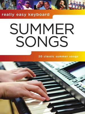 cover image of Really Easy Keyboard: Summer Songs