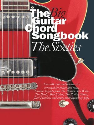 cover image of The Big Guitar Chord Songbook: The 1960s