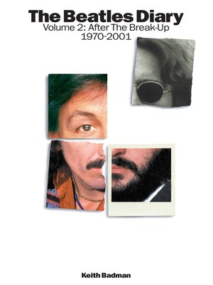 cover image of The Beatles Diary Volume 2