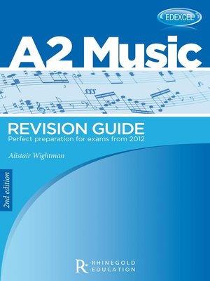 cover image of A2 Music Revision Guide
