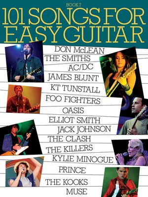 cover image of 101 Songs for Easy Guitar, Book 7