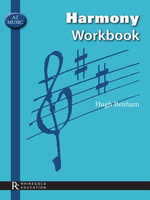 cover image of A2 Music Harmony Workbook